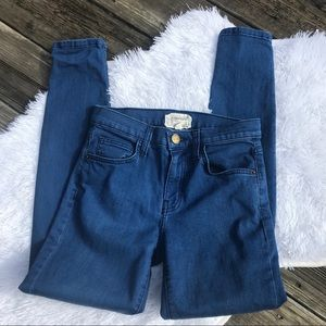 Current/Elliot High Waist Ankle Skinny Jeans 25
